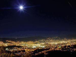 la luna estrella